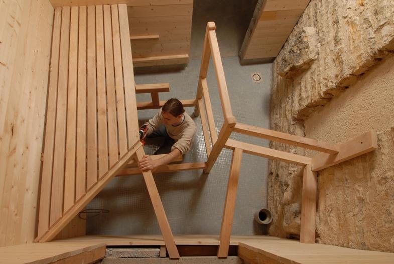 Sauna Finlandais  Atelier Hamot