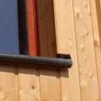 detail facade melèze
