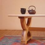 table basse frêne 1