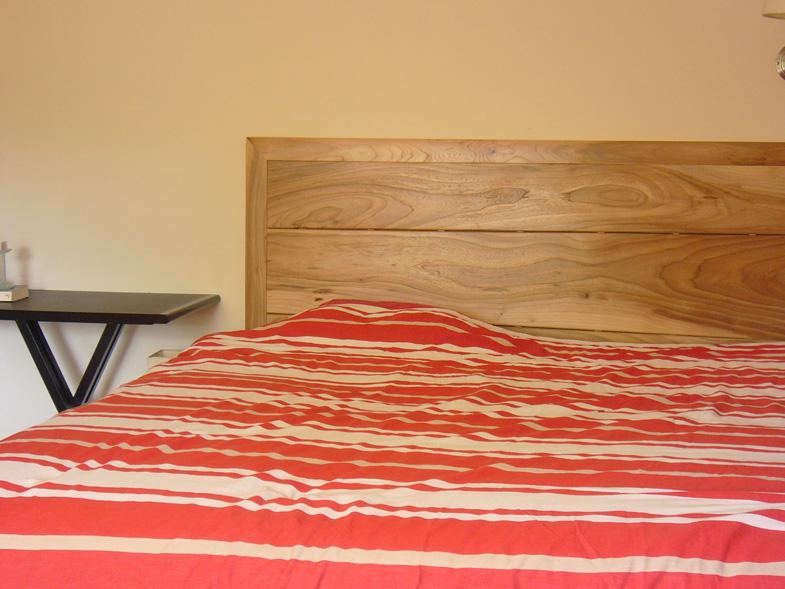 Tête de lit en orme  Atelier Hamot -> Mobilier En Orme