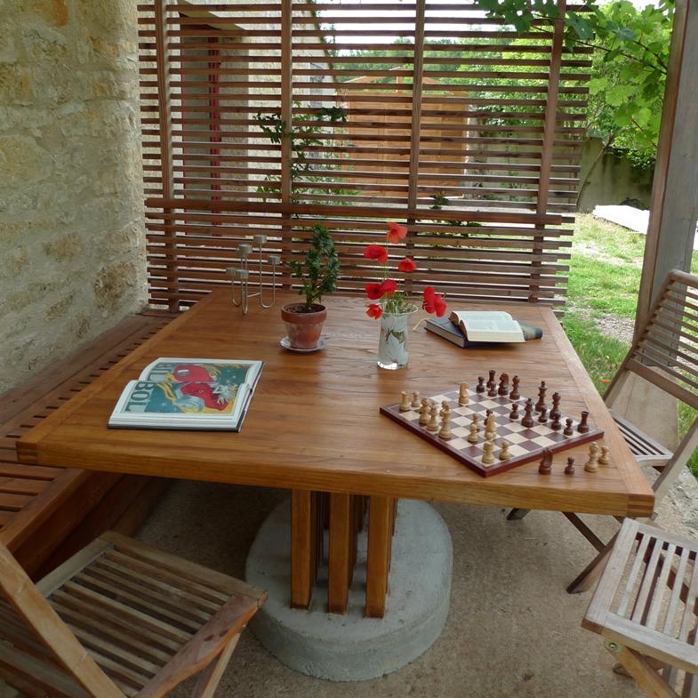 Table d ext rieur atelier hamot - Table d exterieur ...