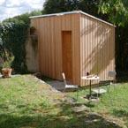 jardin d'hiver et cabinet de toijettes